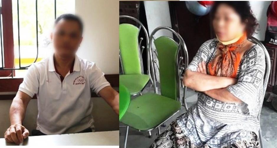 Mang khẩu trang đi phát miễn phí, 2 thành viên nhóm Pháp Luân Công bịcôngan Hà Tĩnh bắt giữ