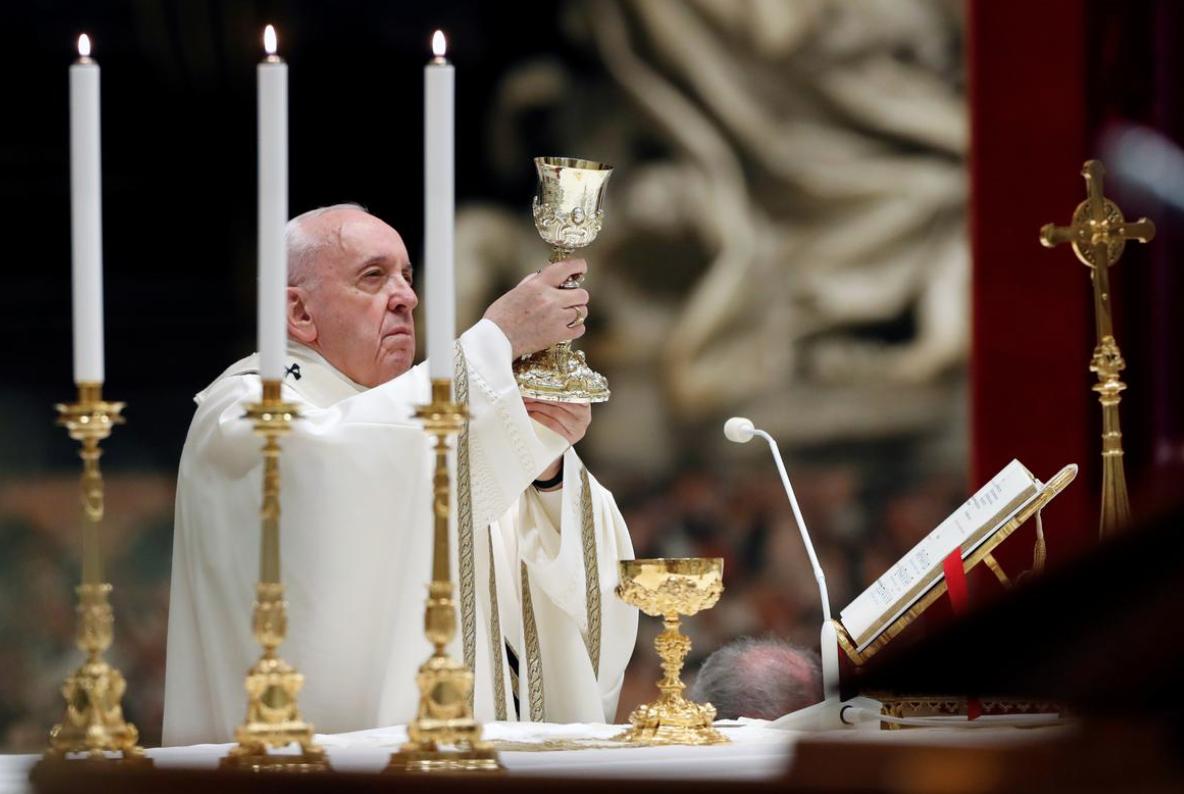 """Trong thánh lễ vọng Phục Sinh, Đức Giáo Hoàng truyền tải thông điệp """"Loan báo sự sống trong thời điểm cái chết"""""""