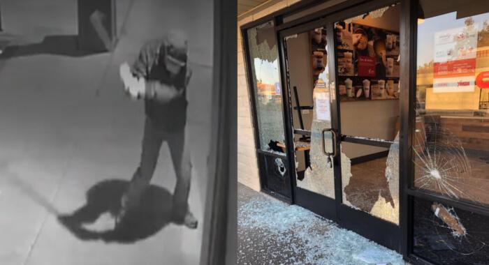 Các cửa hàng của người Việt và người Châu Á bị đập phá