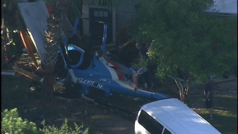 Mmột người thiệt mạng và một người khác bị thương nặng khi máy bay trực thăng của cảnh sát rơi tại Houston