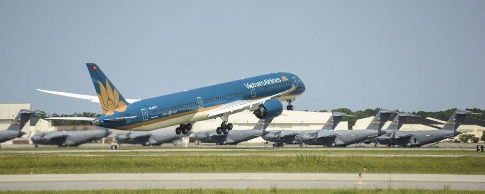 Hãng hàng không Vietnam Airlines lần đầu có chuyến bay sang Hoa Kỳ