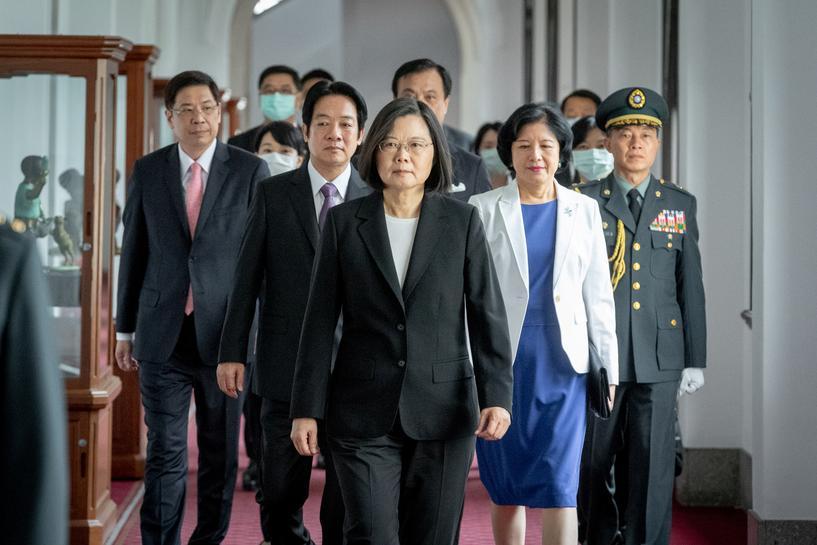 Tổng Thống Đài Loan bác bỏ chế độ một quốc gia hai hệ thống,đồng thời kêu gọi Trung Cộng đàm phán để cùng tồn tại