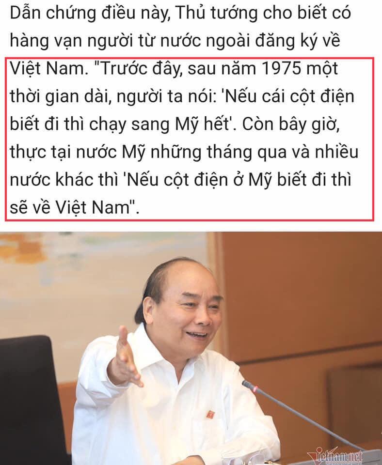 """Cộng đồng mạng Việt Nam """"hiến kế"""" cho ông Nguyễn Xuân Phúc đưa con trai từ hoa Kỳ về Việt Nam"""