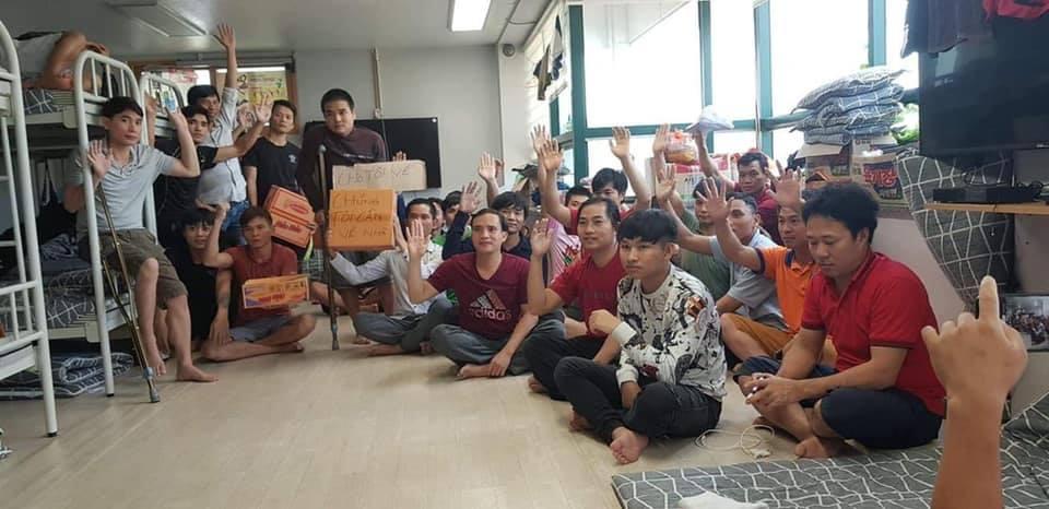 Lao động Việt Nam ở Nam Hàn cầu cứu để được về nước nhưng bị tòa đại sứ làm ngơ