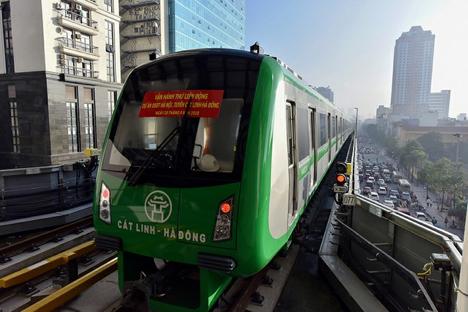 Dựán tàu điện trên cao Cát Linh-Hà Đông:tổngthầu Trung Cộng đòi gấp 50 triệu Mỹ kim