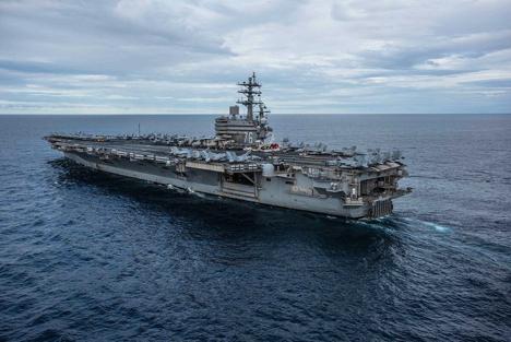 Ba Hàng Không Mẫu Hạm của Hoa Kỳ đến thái bình dương nhằm chế ngự Trung Cộng