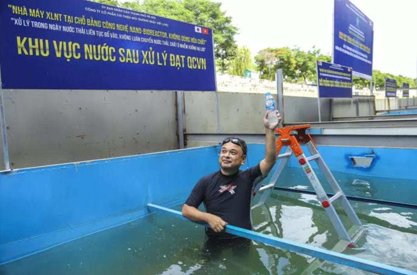 Công ty Nhật lại tố cáo nhà cầm quyền Hà Nội nói sai sự thật vụ làm sạch sông Tô Lịch
