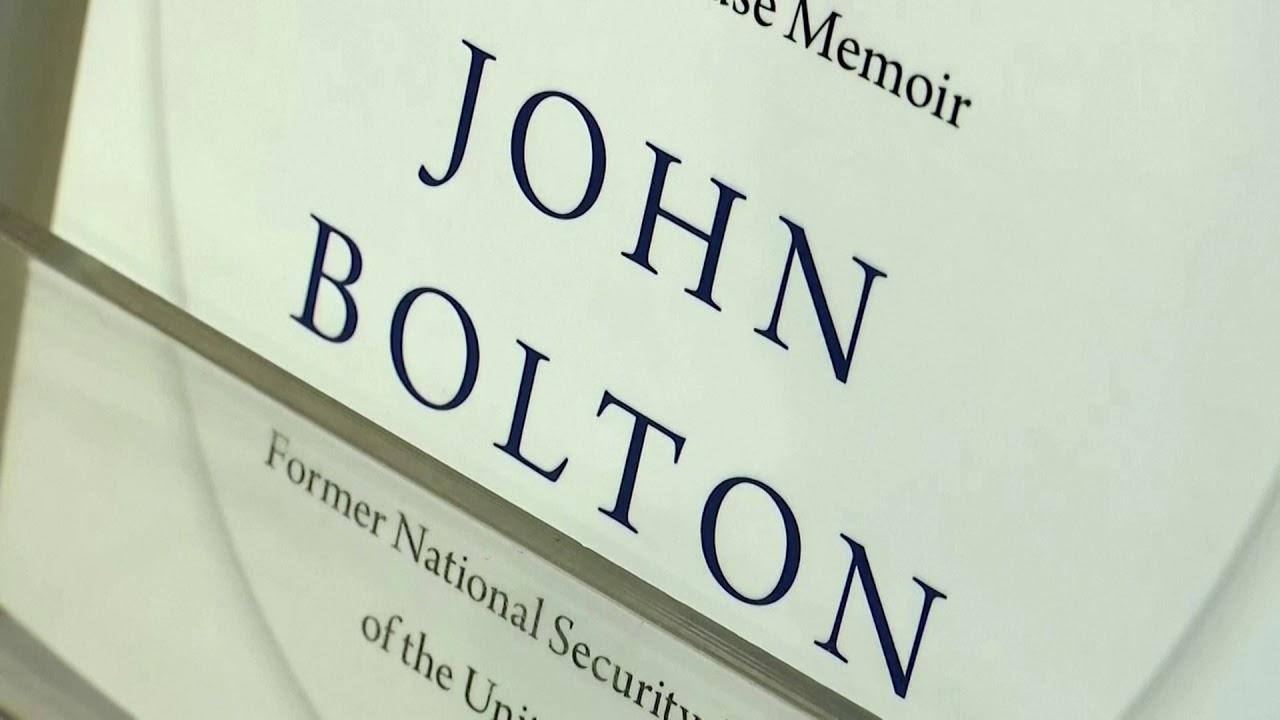 Sách của Cựu Cố vấn An ninh quốc gia John Bolton phát hành ngày hôm nay