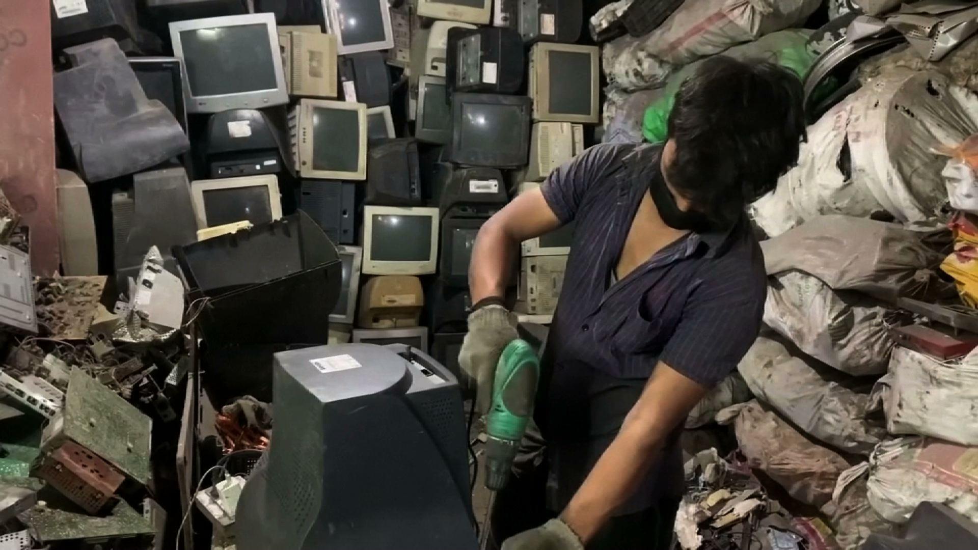 Báo cáo của Liên Hiệp Quốc cho thấy thế giới thải ra lượng rác điện tử kỷ lục