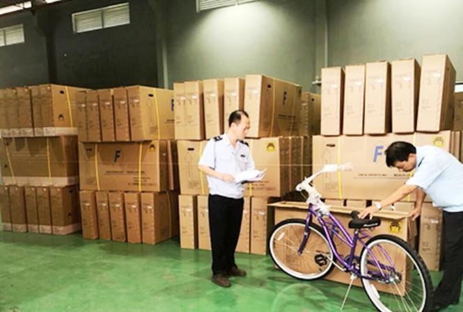 Gần 3,600 chiếc xe đạp Trung Cộng gắn mác Việt Nam bị bắt trước khi đưa sang hoa Kỳ
