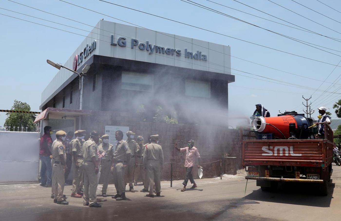 Ấn Độ bắt giữ CEO Nam Hàn cùng 11 người khác vì vụ rò rỉ khí đốt tại LG Polymers