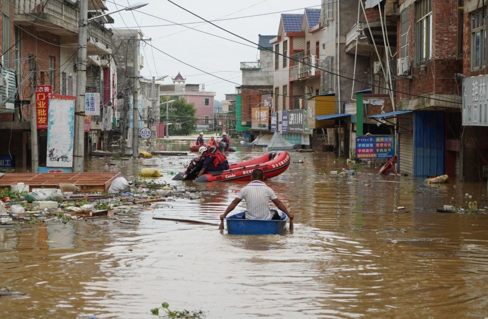 Lũ lụt tại Trung Cộng gây ảnh hưởng nặng nề cho 34 triệu người