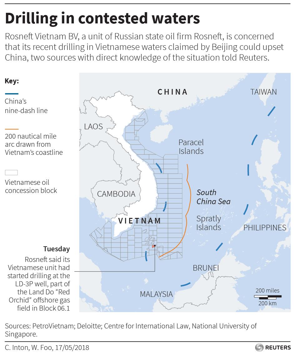 Công ty dầu khí rút khỏi Việt Nam trong bối cảnh Trung Cộng thắt chặt kiểm soát