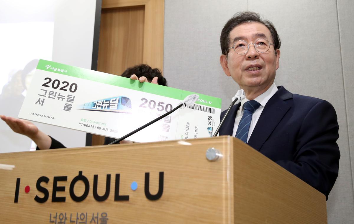 Thị Trưởng Seoul tự tử sau khi viết thư xin lỗi mọi người