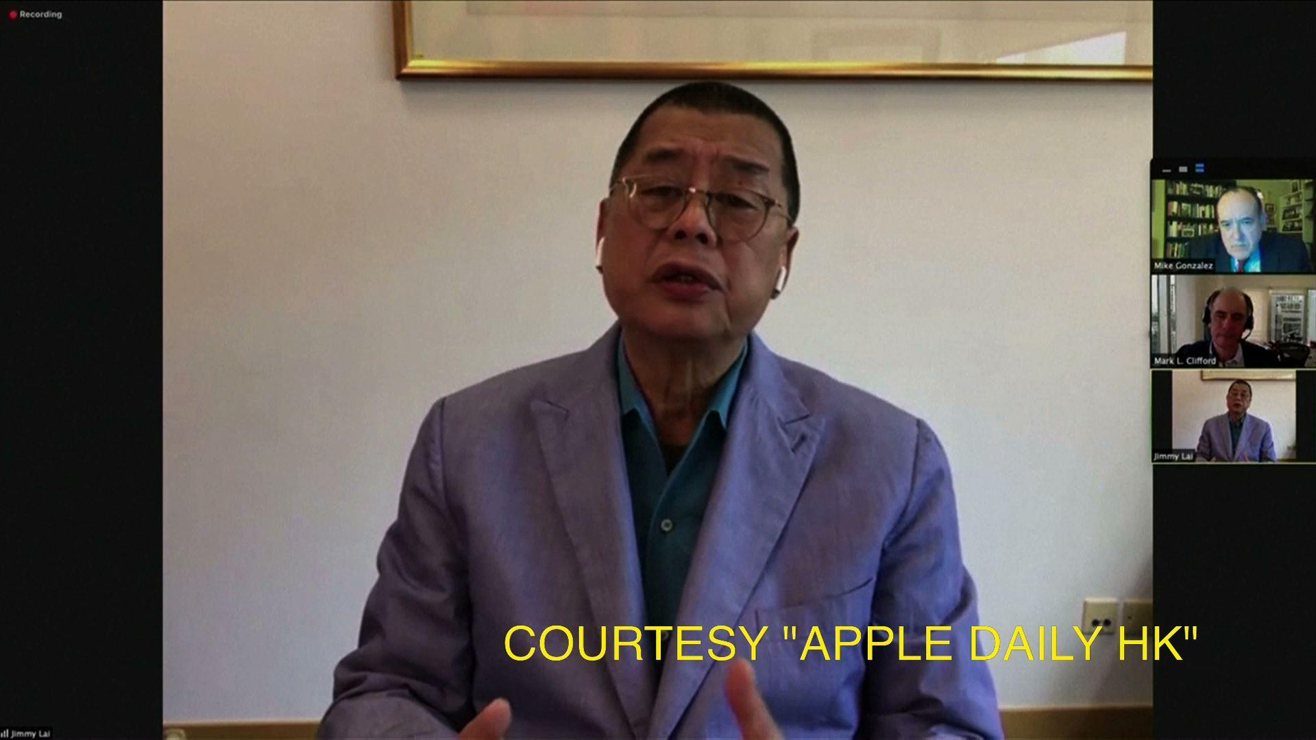 Ông trùm truyền thông Jimmy Lai cho rằng Hồng Kông cần một chiến dịch dân chủ kiên nhẫn
