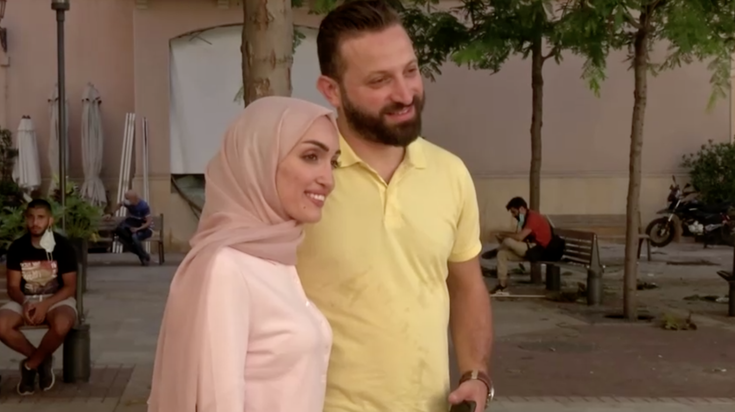Video đám cưới của cô dâu Beirut ghi nhận lại vụ nổ nhà kho