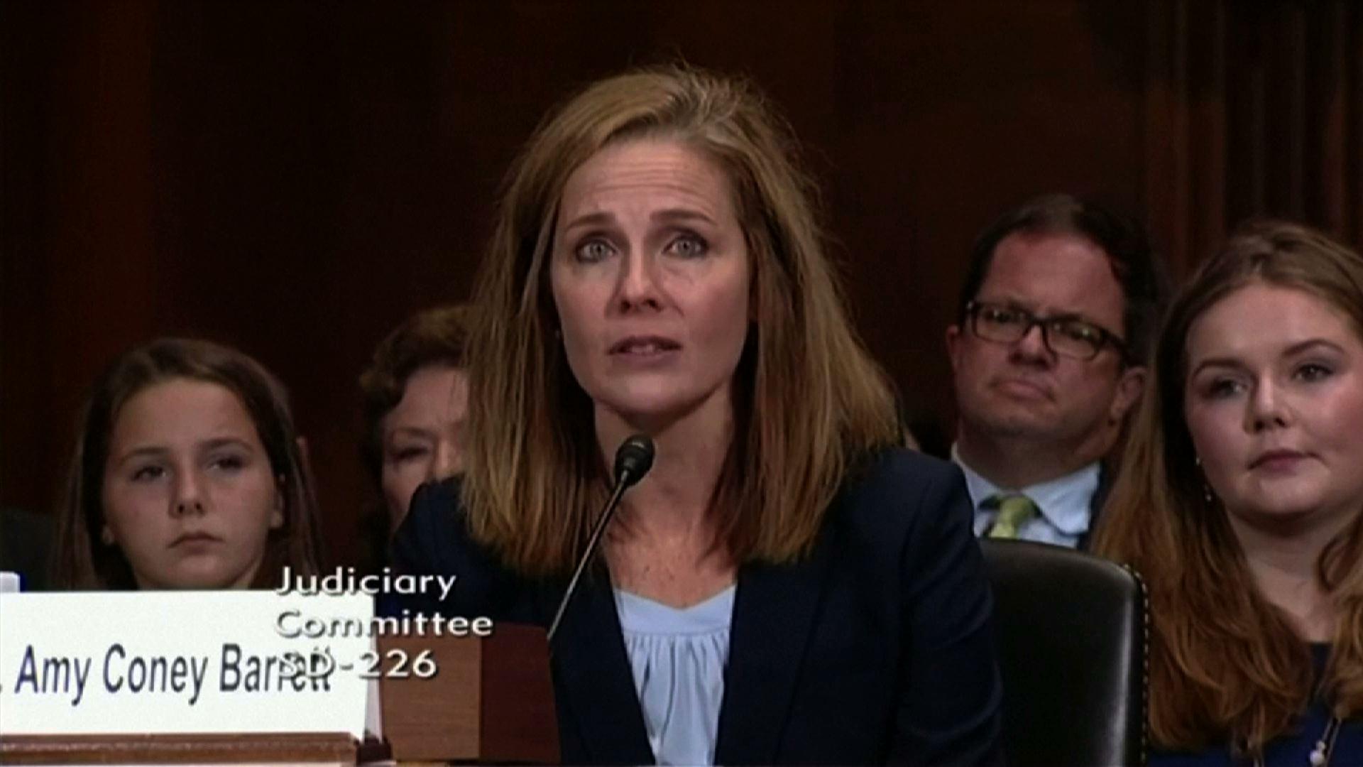 Tổng Thống Trump dự kiến đề cử thẩm phán Amy Coney Barrett vào Tối Cao Pháp Viện