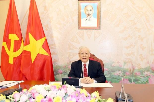 Tổng bí thư đảng CSVN muốn tăng cường hợp tác với Trung Cộng nhiều hơn