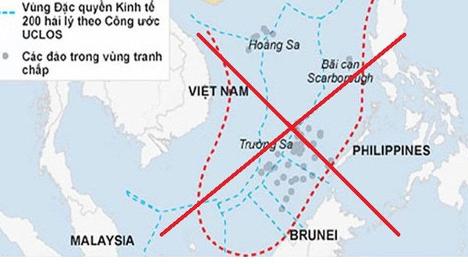 Bacường quốc Anh, Pháp và Đức gửi công hàm lên LHQ để phản đối yêu sách của Trung Cộng ở biển Đông