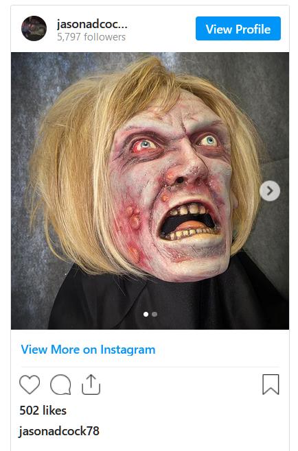 """Họa sĩ bán mặt nạ hóa trang halloween """"Karen"""" với giá 180 Mỹ kim, biểu tượng của """"con quái vật thực sự của năm 2020"""""""