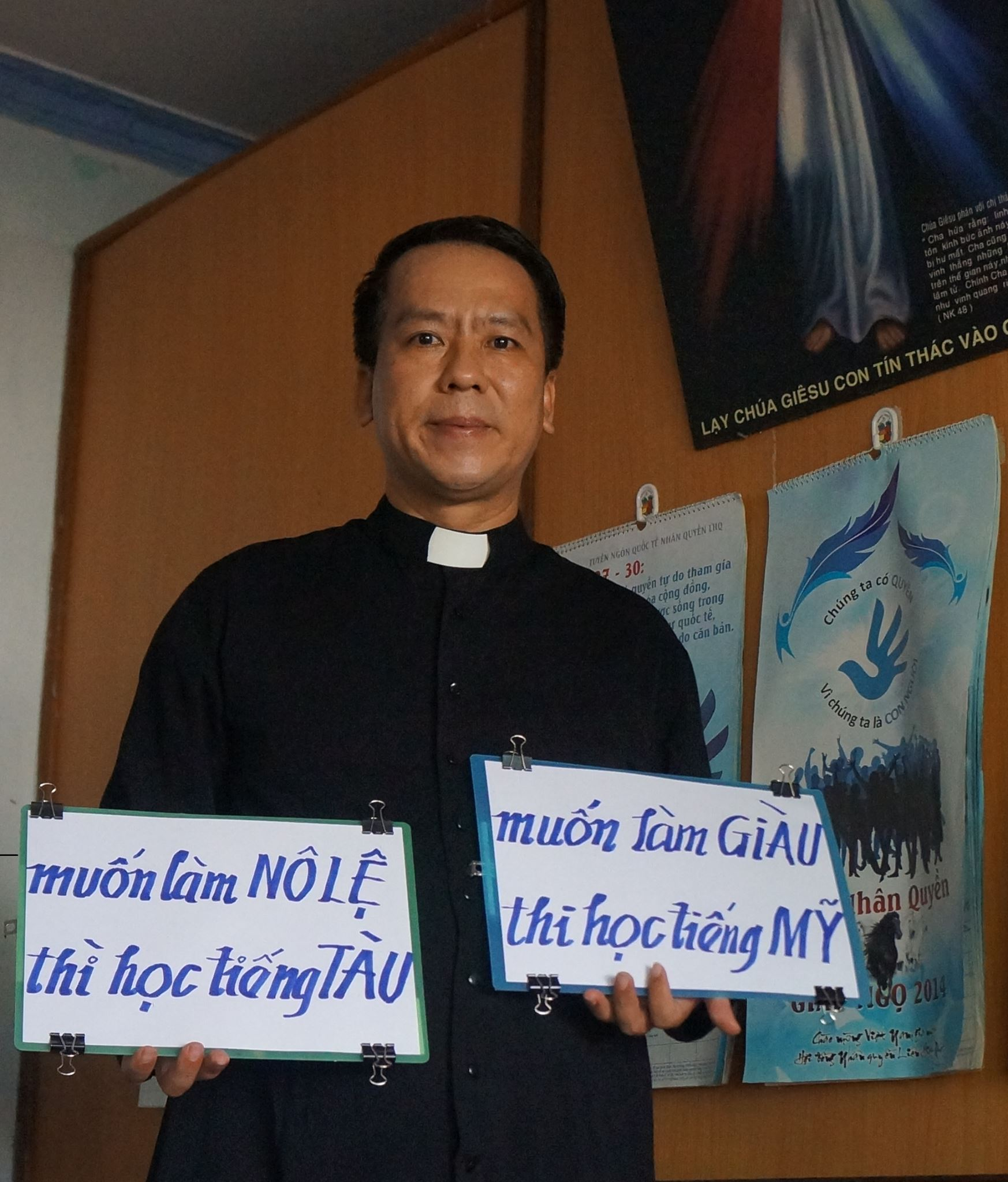 """Linh mục Nguyễn Duy Tân bị điều về nhà thờ chính toà để """"vô hiệu hoá""""?"""