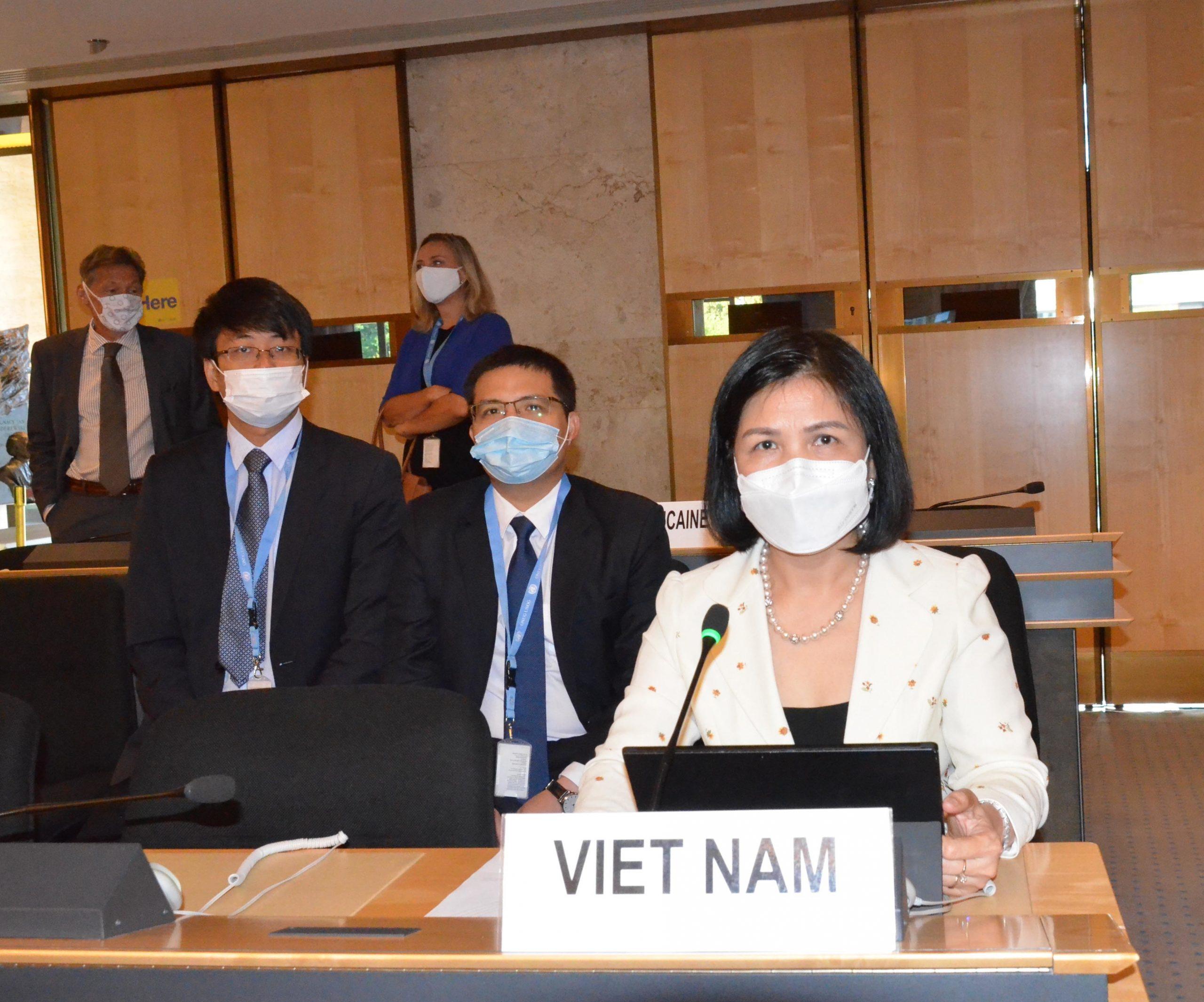CSVN tại liên hiệp quốc khẳng định bảo vệ quyền con người đạt nhiều thành tựu