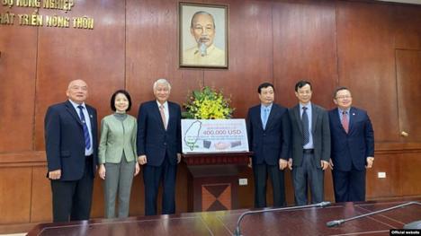 CSVN nhận900,000 Mỹ kim hỗ trợ nhân đạo từĐàiLoan, Nam Hàn và Hoa Kỳ
