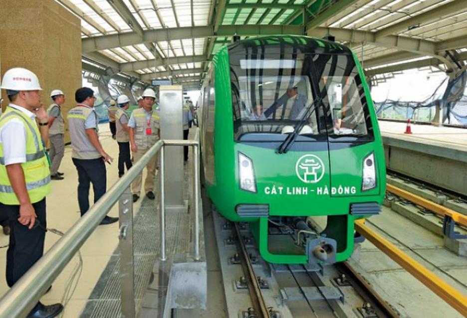 Hà Nội sẽ vận hành thử nghiệm toàn hệ thống tàu điện trên cao Cát Linh-Hà Đông trong tháng 12