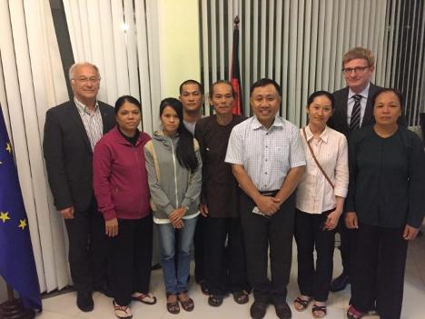 Tùnhân lương tâm Nguyễn Bắc Truyển được trao giải Stefanus