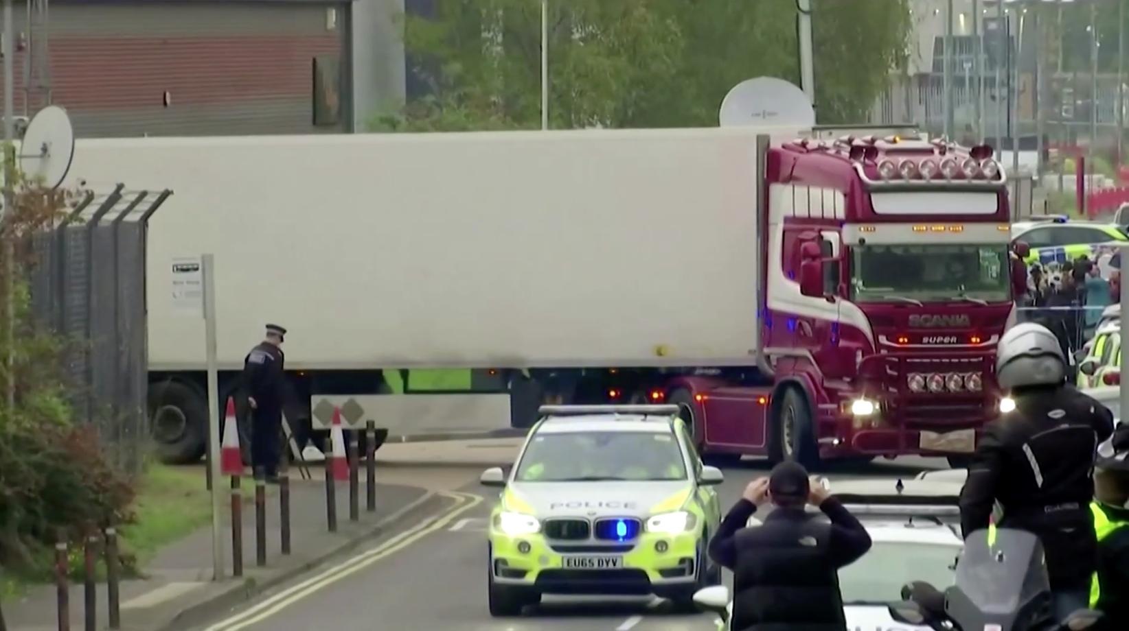 Bắt đầu xét xử nghi can trong thảm kịch xe vận tải chở di dân Việt Nam vượt biên vào Anh Quốc