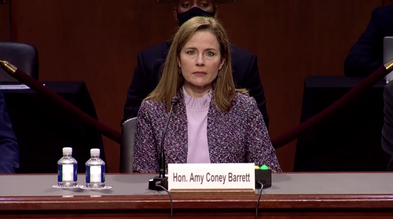 Thẩm phán Amy Barrett tiếp tục bị chất vấn tại Thượng Viện