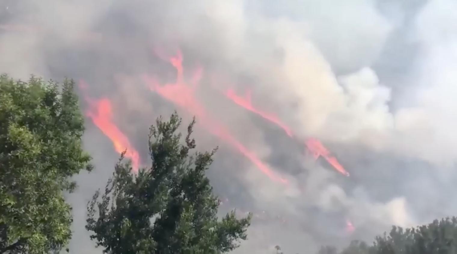 Lệnh di tản do cháy rừng được dỡ bỏ ở Nam California