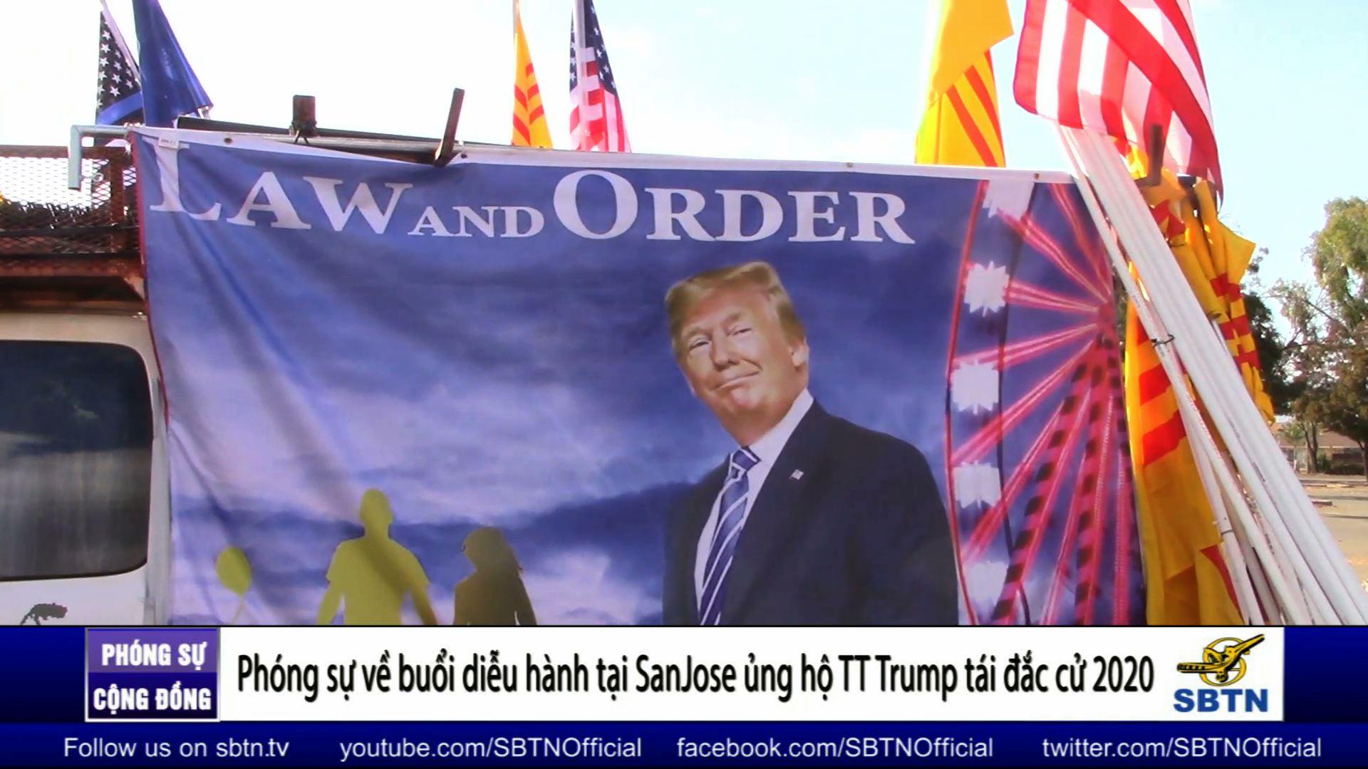 Diễn hành ủng hộ Tổng Thống Trump tái đắc cử 2020 tại San Jose