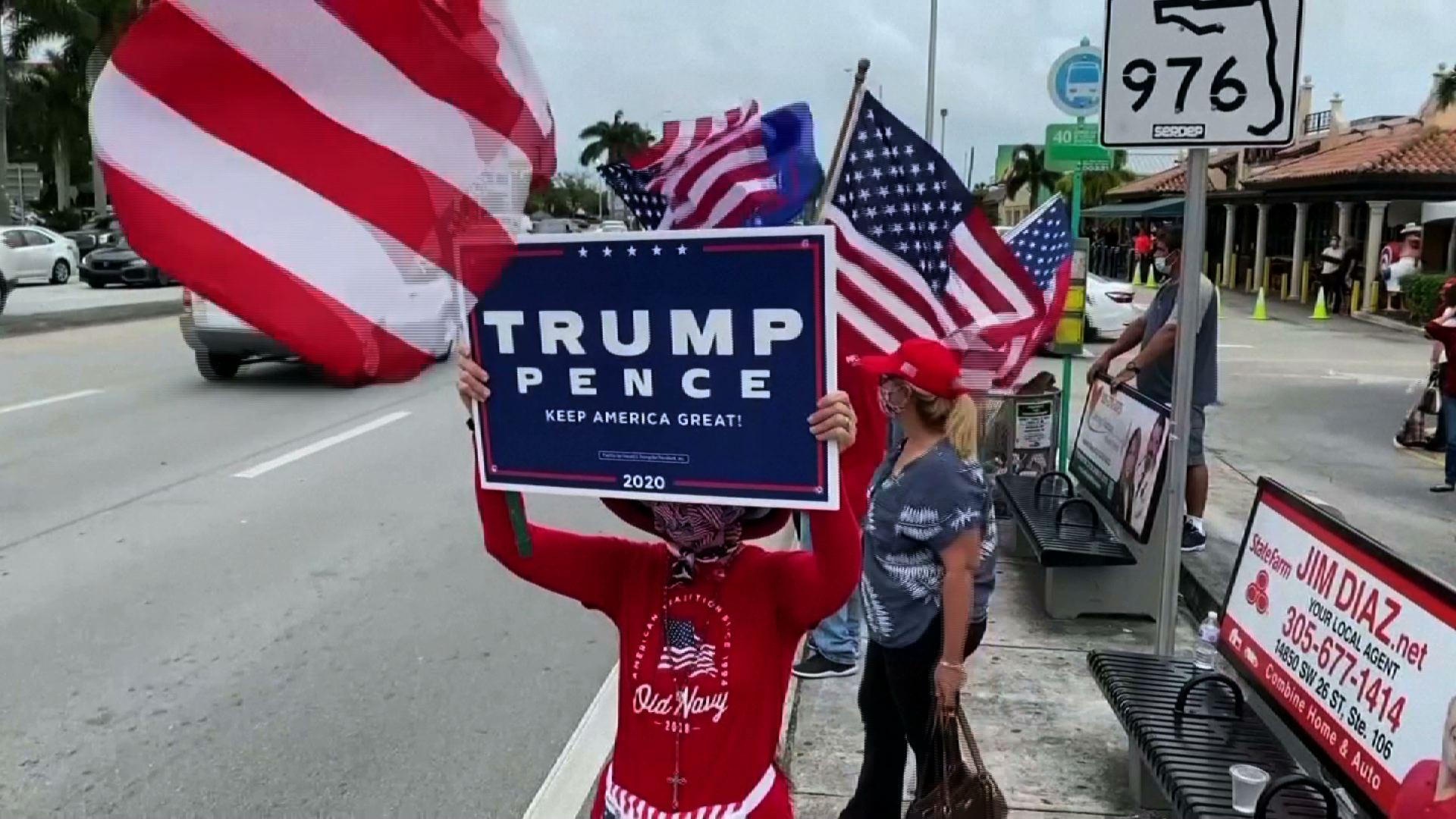 Người Mỹ gốc Cuba ở Miami vẫn trung thành với Tổng Thống Trump