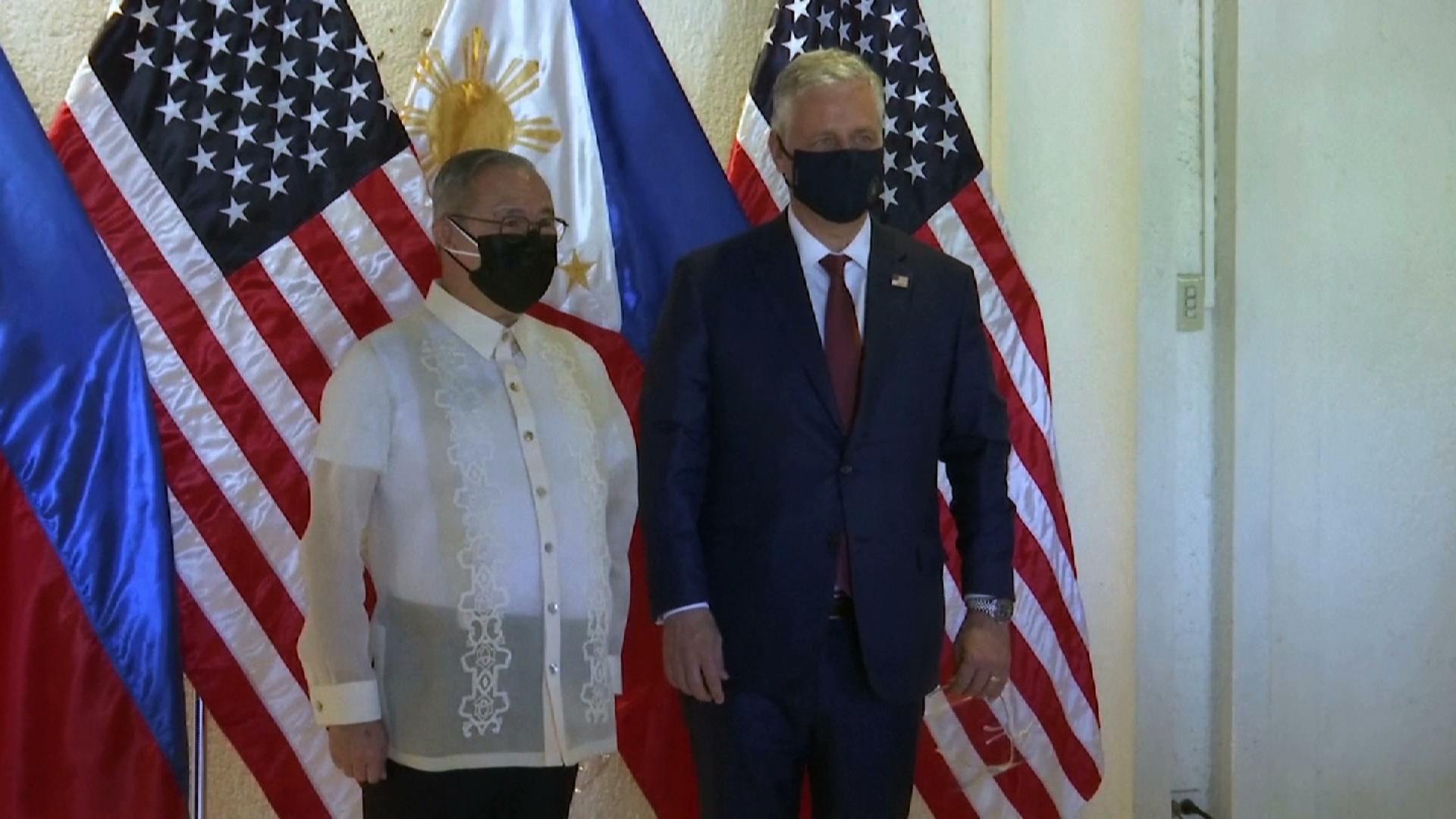 Tòa Đại sứ Trung Cộng tại Manila cáo buộc Hoa Kỳ gây hỗn loạn ở châu Á