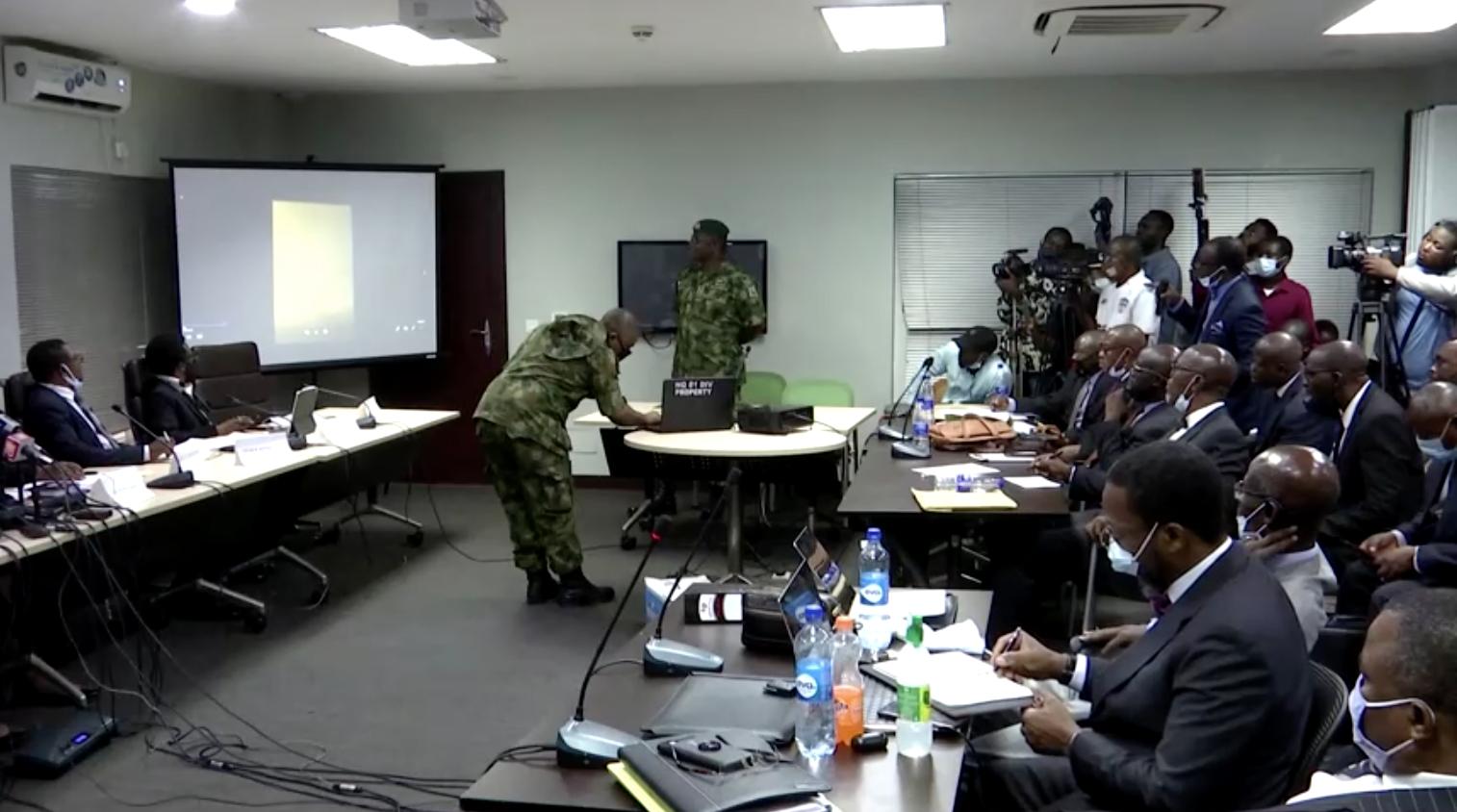 Tướng Nigeria tuyên bố video biểu tình đẫm máu ở Lagos là giả