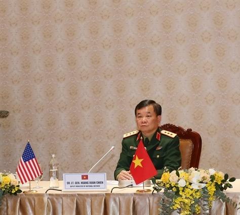 Việt Nam và Hoa Kỳ đối thoại chính sách quốc phòng trực tuyến