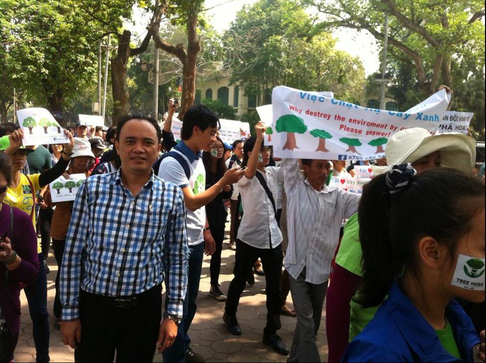 Nhàhoạt động Nguyễn Trung Lĩnh bị kết án 12 năm tù trong phiênxử kín