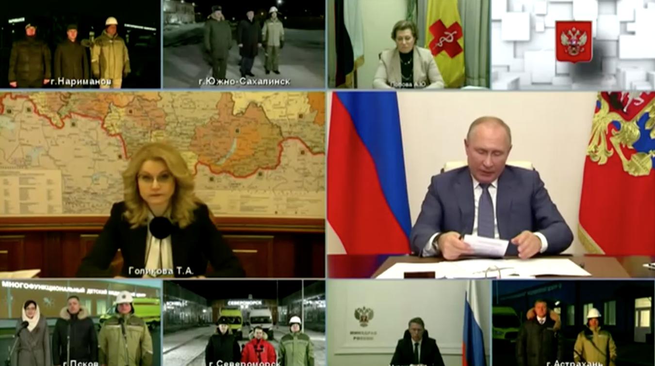Tổng Thống Nga ra lệnh bắt đầu tiêm chủng COVID-19 quy mô lớn vào tuần tới
