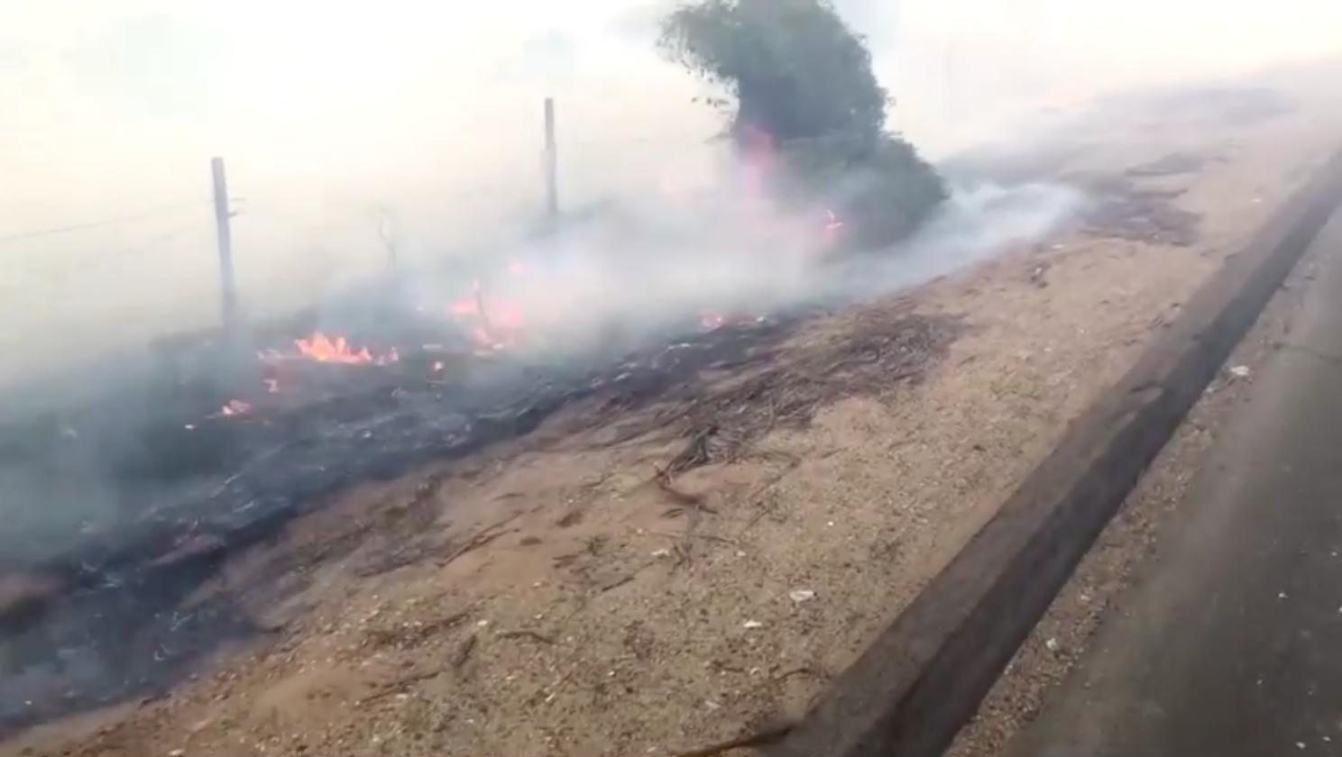 Thời tiết khô và gió mạnh trở lại miền Nam California, khiến nguy cơ cháy rừng tăng mạnh