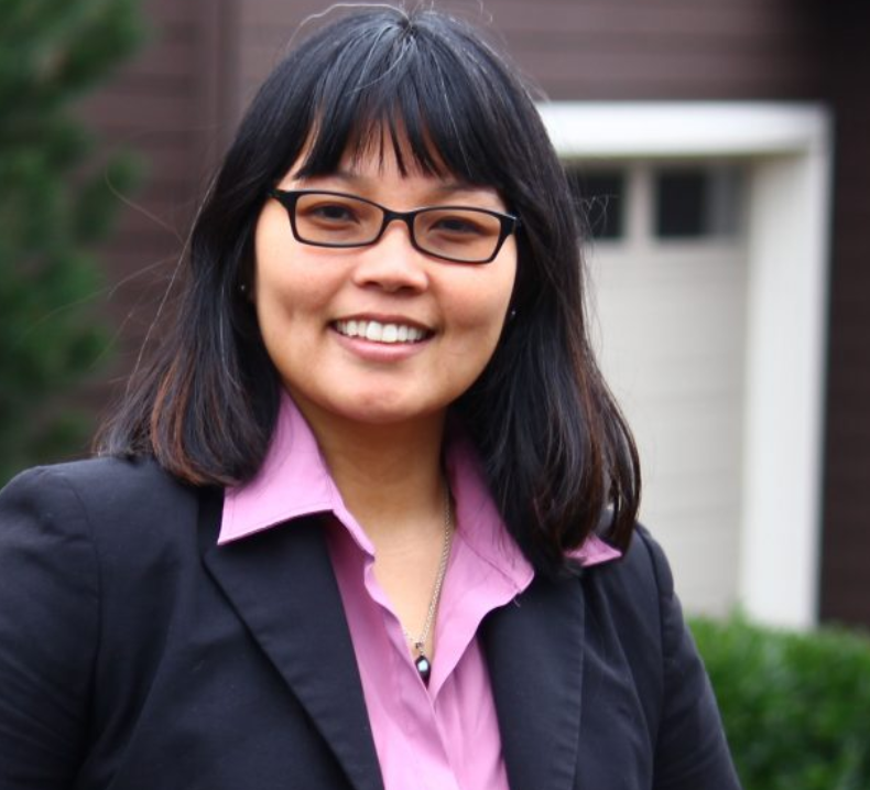 Cô Kim-Khánh Vân, nghị viên thành phố Renton tranh cử vào vị trí nghị viên quận King