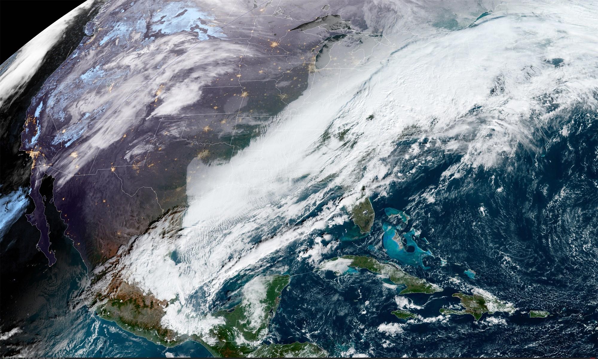 Một cơn bão tuyết được dự báo sẽ bao trùm vùng Đông Bắc