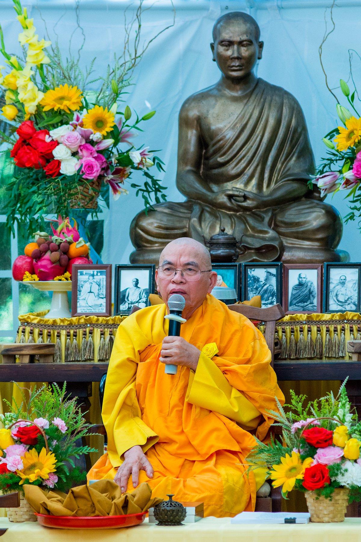 Trưởng lão Hòa thượng Thích Giác Lượng viên tịch ở tuổi 86