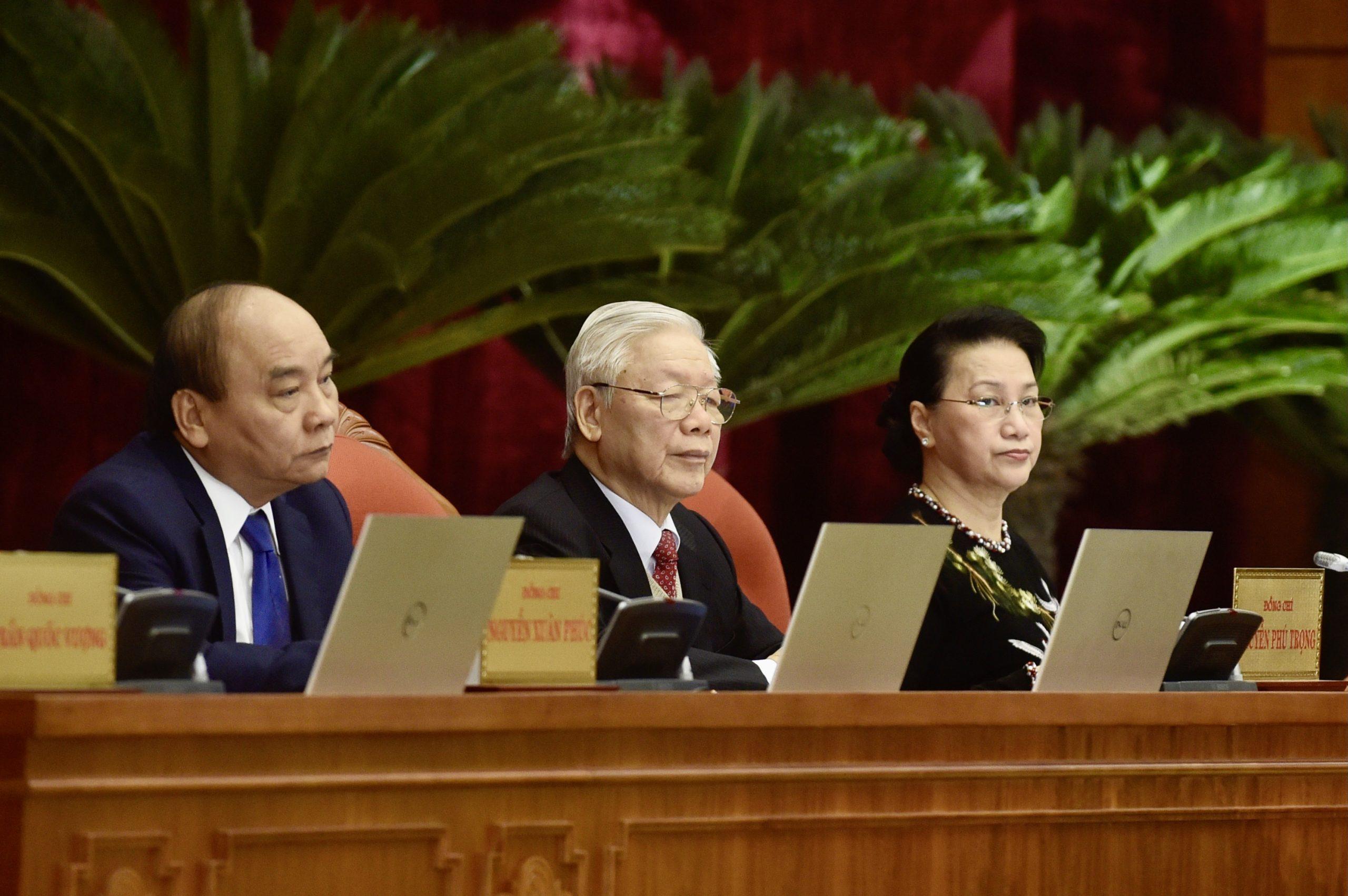 Tổng bí thư Đảng Cộng sản Việt nam tuyên bố về nhân sự khoá 13