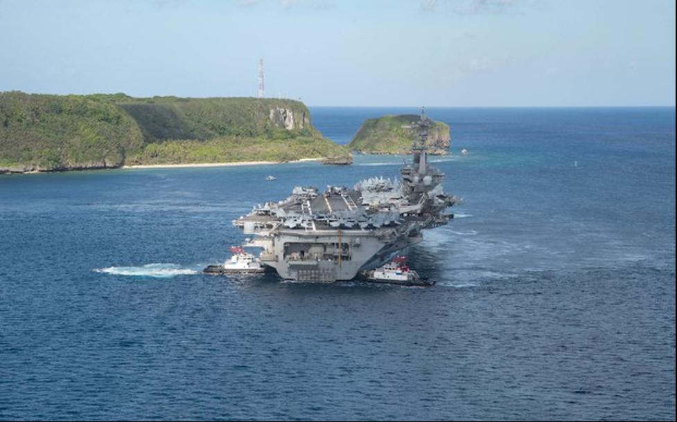 Chínhquyền mới của Hoa Kỳ đưahàngkhông mẫu hạm vào biển Đông