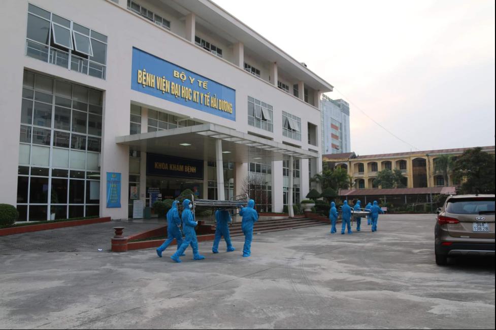 CSVN lập 3 bệnh viện dã chiến, đặt mục tiêu dập dịch COVID-19 trong 8 ngày