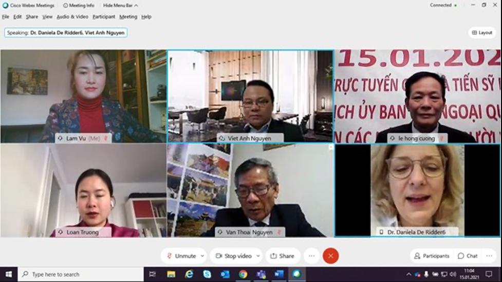 Ủyban đối ngoại Quốc Hội Đức chủ trì hội thảo trực tuyến về biển Đông