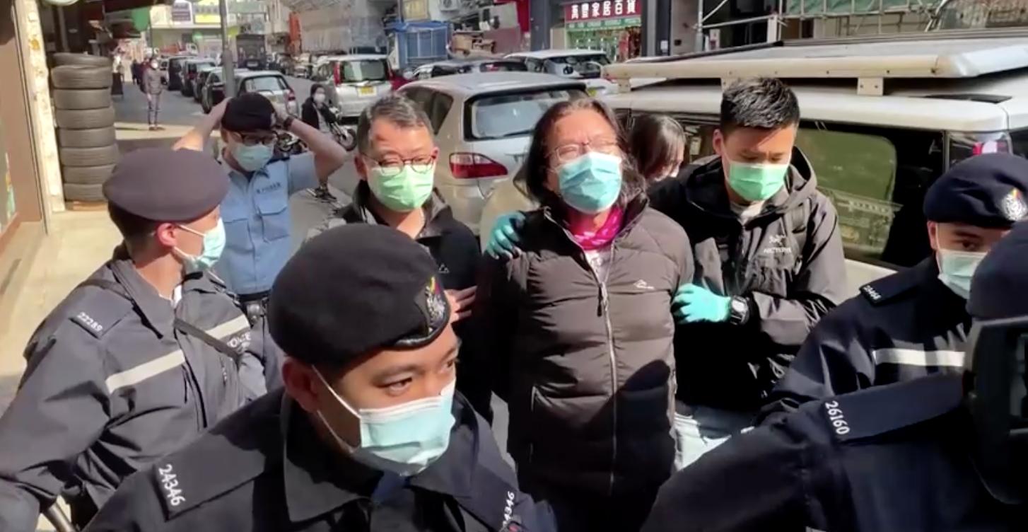 Cảnh sát Hồng Kông bắt giữ 11 người bị tình nghi hỗ trợ cho nỗ lực bỏ trốn của các nhà đấu tranh dân chủ