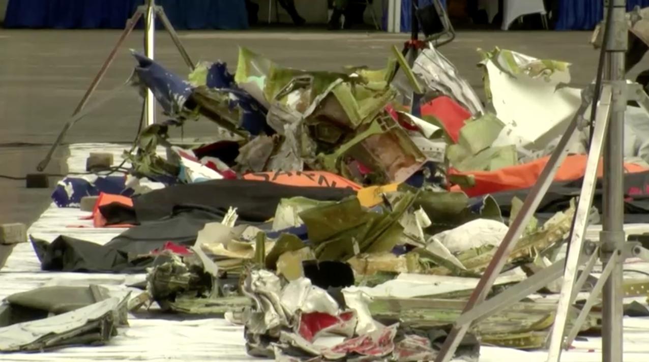 Các nhân viên điều tra tai nạn hàng không của Indonesia hy vọng thu hồi được máy ghi âm