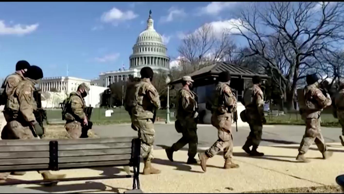 Hơn 150 vệ binh quốc gia được điều động tới Washington dương tính với coronavirus